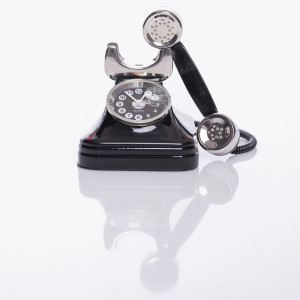 Grappig klokje ''telefoon''
