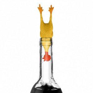 "Grappige wijnkurk ""Coq au Vin"""