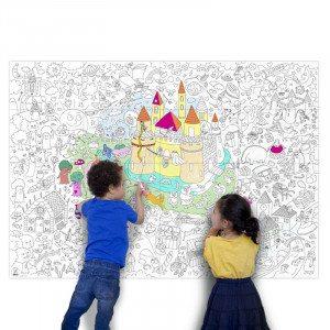 Grote kleurposter ''magic''