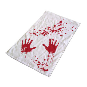 Handdoek ''Bloedbad''