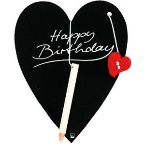 Happy Birthday-kaart