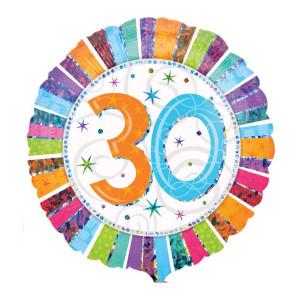 "Heliumballon ""30e verjaardag"""