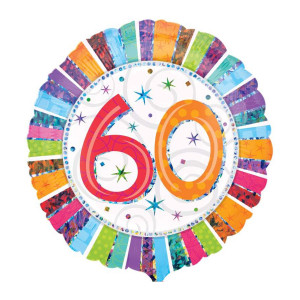 "Heliumballon ""60e verjaardag"""