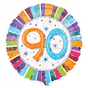 "Heliumballon ""90e verjaardag"""