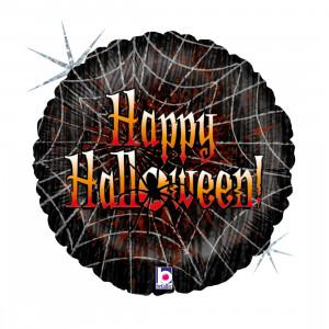 "Heliumballon Halloween ""Spinnenweb"""