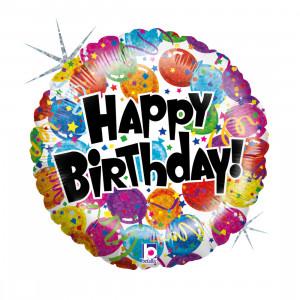 "Heliumballon ""Verjaardagsfeestje"""