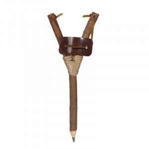 Holz Kugelschreiber mit Schleuder