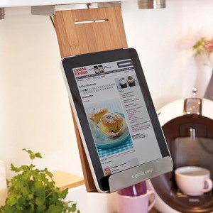 Houder voor kookboek of tablet