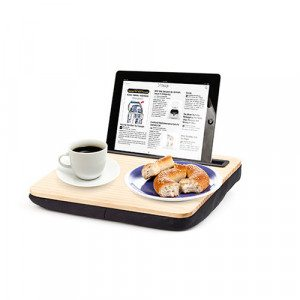 iBed lap desk met gravure