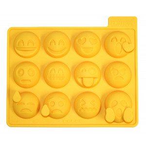 Ijsblokjesvorm met grappige gezichtjes