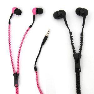 In-ear koptelefoon met ritssluiting