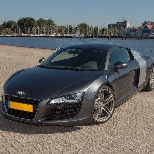 In een Audi R8 rijden - Antwerpen