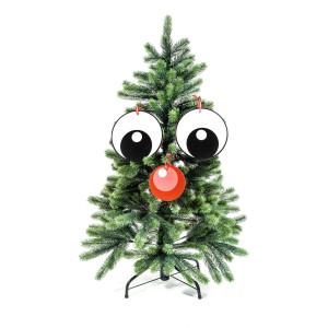"""Kerstboomdecoratie """"Mr. Tree"""" - een gezicht voor je kerstboom"""