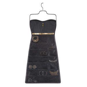 Kleine sieraden organiser in zwart