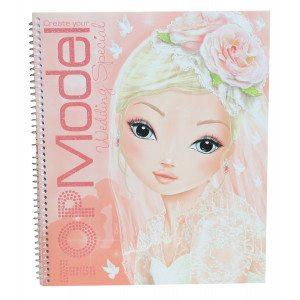 Kleurboek Topmodel - Create Your Wedding - leuk cadeau voor meisjes