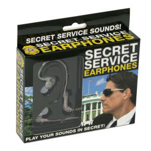 "Koptelefoon ""Secret service"""