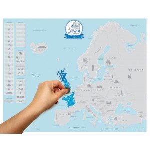 Kraskaart Europa
