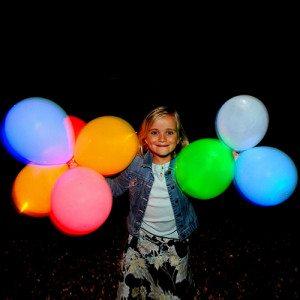 Lichtgevende LED-ballonnen