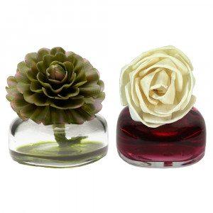 Mini-luchtverfrisser met bloem