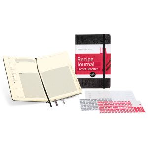 Moleskine receptenboekje