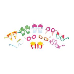 Partybrillen-set