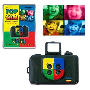 Pop-Art fotocamera