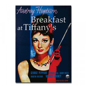 "Poster ""Breakfast at Tiffany's"""