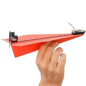 Power up 3.0 – bestuurbaar papieren vliegtuig