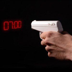 Projectie pistoolwekker