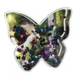 Schud fotolijst vlinder