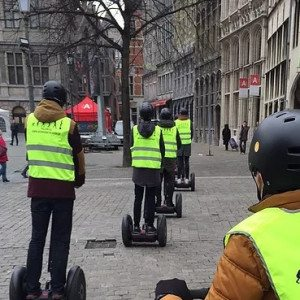 Segway city tour - Antwerpen