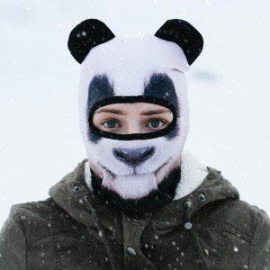 Skimasker in dierenmotief - kom goed voor de dag op wintersport