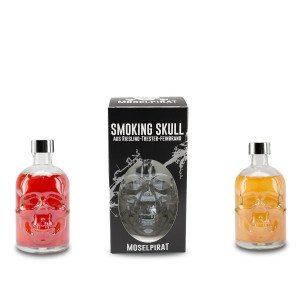 Sterke dranken in doodskopfles - een origineel cadeau