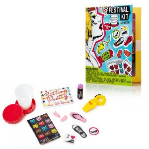 Survival kit voor festivals