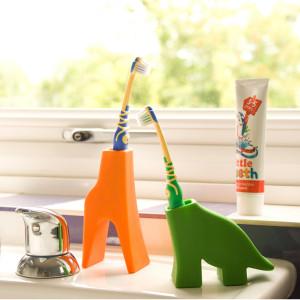 Tandenborstelhouder in vorm van dieren