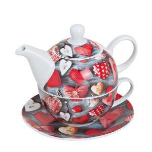 Tea for one- theepot en mok