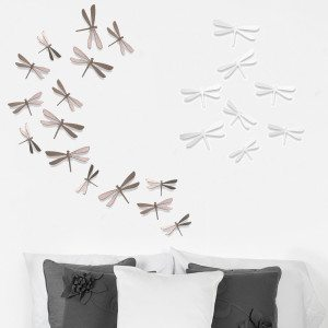"""Wanddecoratie """"Libellen"""""""
