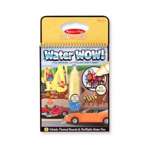 Water Wow! - waterkleurboek (auto's)