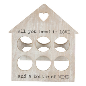 "Wijnrek ""All You Need Is Love"""